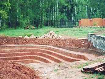 Выкопать пруд